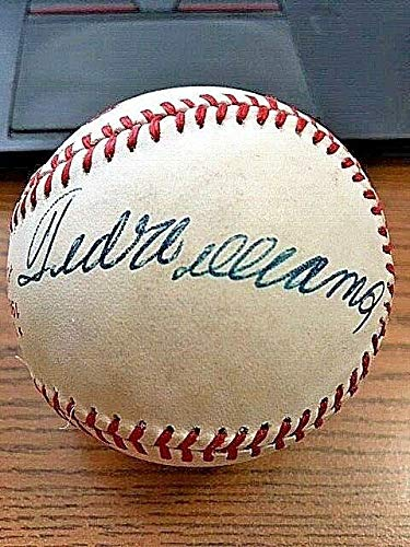 Autographed Ted Williams Ball - 4 1986 WORLD SERIES ! ! ! - JSA Certified - Autographed Baseballs