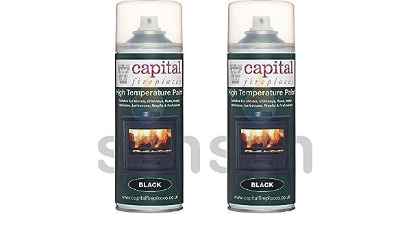 X2 latas de capital estufa pintura 650 grado C resistencia ...