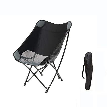 Whygry Silla De Camping Plegable, Al Aire Libre Ligero ...