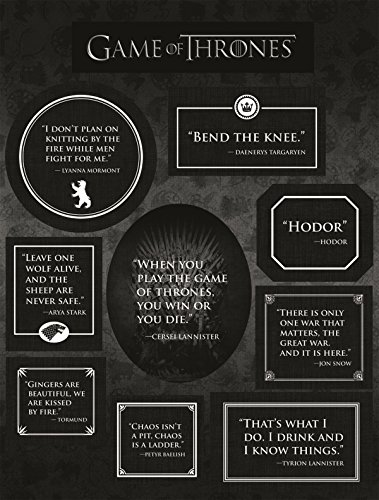 Dark Horse Deluxe Game of Thrones: Quotes Magnets -