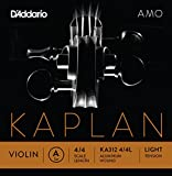 D\'Addario Kaplan Amo Violin A String, 4/4 Scale, Light Tension