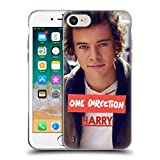 Official One Direction Jacket Harry Styles Photo Soft Gel Case for iPhone 7 / iPhone 8