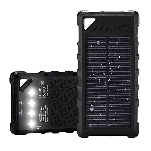 Waterproof 16000mAh Solar Charger made our list of Gifts For Active Women, Gifts For Women Who Hike, Gifts For Women Who Fish, Gifts For Women Who Camp