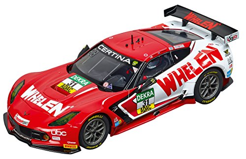 - Carrera 27548 Evolution Analog Slot Car Racing Vehicle - Chevrolet Corvette C7R Whelen Motorsports No.31 (1: 32 Scale), Red