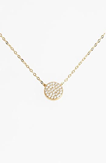 Amazon nadri geo small gold pendant necklace jewelry nadri geo small gold pendant necklace aloadofball