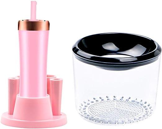 Cepillo de maquillaje automático limpiador rápido, kit de lavadora ...