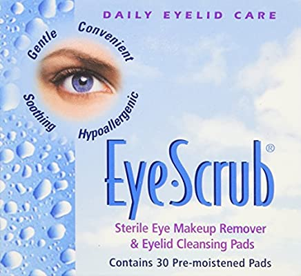 Amazoncom Eye Scrub Sterile Makeup Remover And Eyelid Cleansing - Allergic-reaction-to-makeup-remover-on-eye