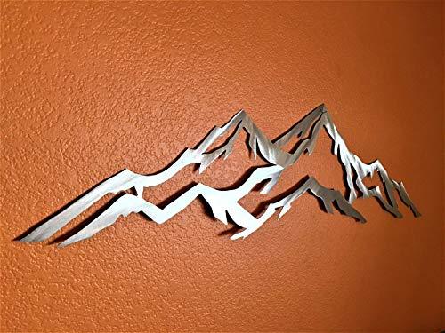 Aspen Mountain metal wall art by Bear Mountain Metal Art (Image #4)