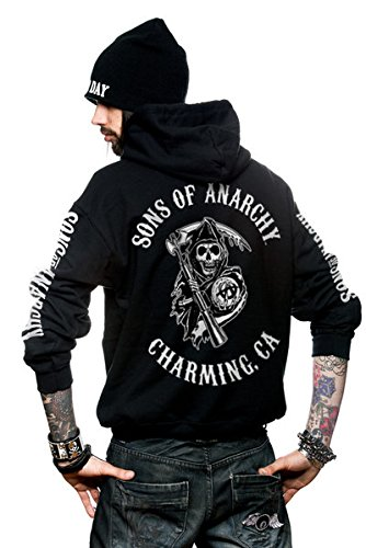 Ca Full Soa Fermeture Hood Backprint Éclair wFx5axqdp