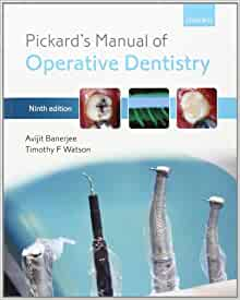 pickard manual of operative dentistry 9th edition pdf free download