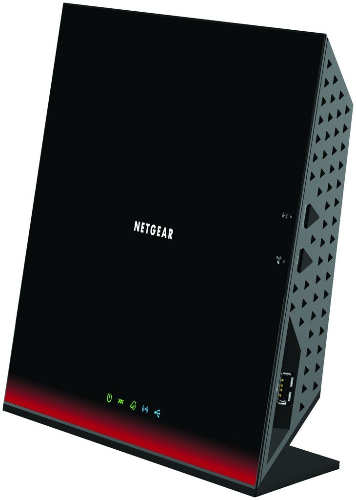 NETGEAR D6300-100UKS AC1600 Dual Band Wireless ADSL2+ Modem Router for Phone Line Connections