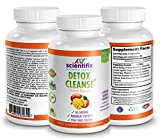 Detox Colon Cleanse - African Mango Natural Colon Cleanse. Reduces bloating - Improves digestion - 18 natural body detoxing ingredients improve your skin, colon, discomfort, digestion, and more.