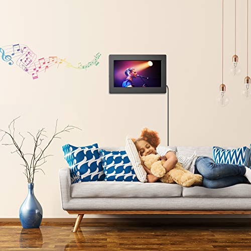 Digital Picture Frame 10 Inch Widescreen - 1280 x 800 IPS Hi-Res Digital Photo & HD Video Frame with Video Player, MP3, Calendar, Zoom in, Create Slideshows with Remote Control by Pipishell (Image #5)