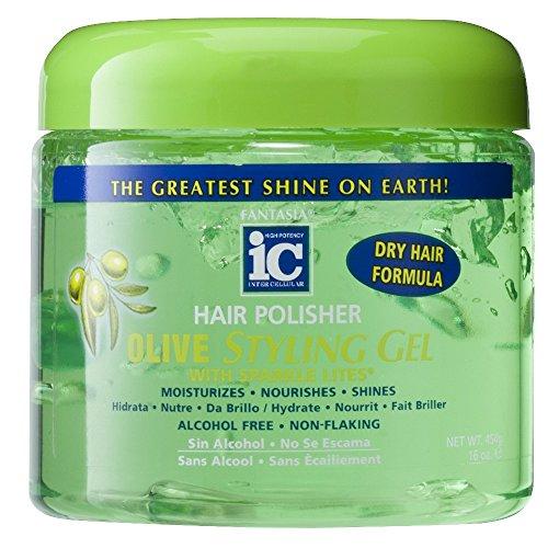 Fantasia IC Olive Oil Style Gel, 16 oz