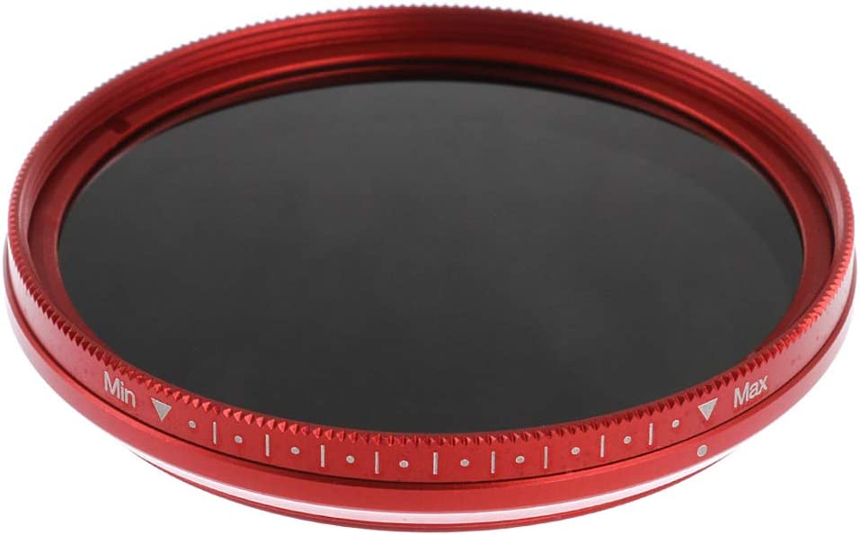 Homyl ND2 to ND400 Slim Fader Variable Adjustable ND Neutral Density Filter 72mm