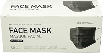 Made in Canada Black Mask
