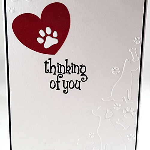 Mimgo Metal Steel Embossing Cutting Dies Stencil Kit For Handmade DIY Scrapbooking Paper Card Craft - Love & Dog's Palm by Mimgo (Image #4)