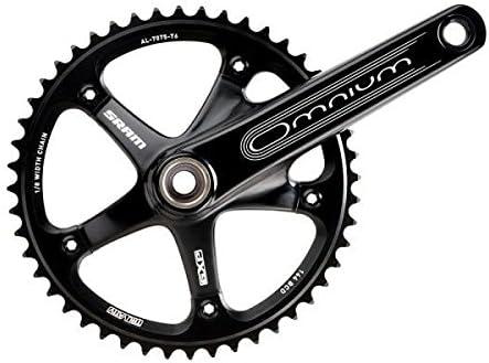 SRAM Omnium-17 Bielas para Bicicleta Carretera, Unisex, Negro ...