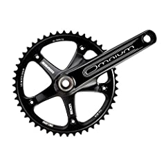 The SRAM Omnium Crankset features a one-piece forged 7050-TV alloy arm/spider design with GXP drive-side spindle.