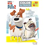 Secret Life of Pets Coloring Book Color and Trace  42215
