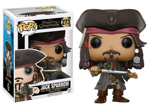 Funko POP Disney Pirates of the Caribbean Jack Sparrow Action Figure by Funko