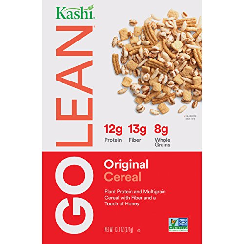 Kashi GO Original Breakfast Cereal - Non-GMO | Vegetarian | 13.1 Oz -