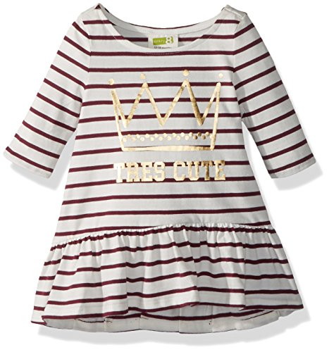 Crazy 8 Girls Toddler Stripe Tres Cute Dress