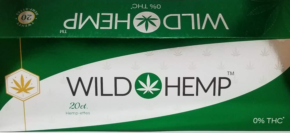 Wild Herbal Cigarettes - Hemp-Ettes (Carton of 10 Packs)