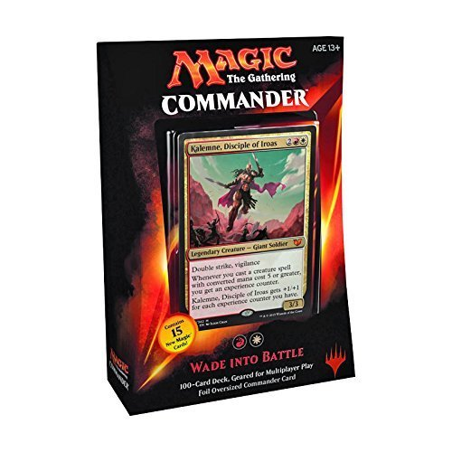 MTG Commander 2015 Edition Magic the Gathering – Wade Into Battle Red White Deck New Sealed