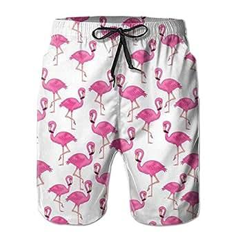 crystars I Like Exercise Pink Flamingo Seamless Pattern
