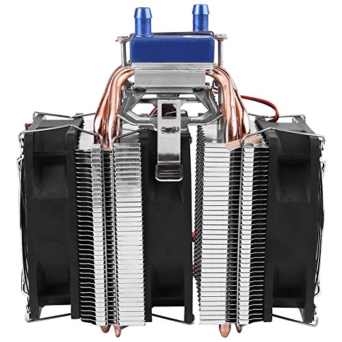 DC 12V Thermoelectric Cooler Peltier System Semiconductor Refrigeration Water Chiller Cooling Device for Fish Tank(120W (for 30L tank)) by Hilitand (Image #4)
