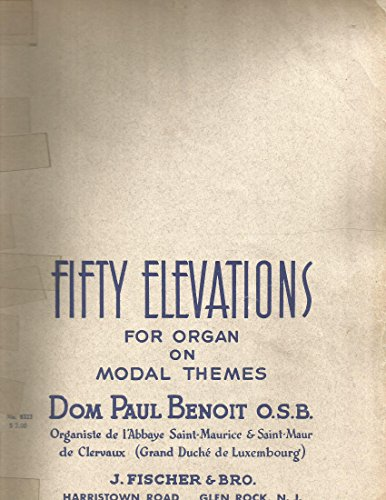 Fifty Elevations for Organ on modal Themes