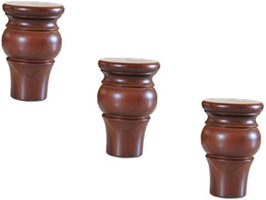 Amazon.com: Patas de mueble – patas de madera maciza para ...