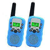 Toys for 4-5 Year Old Boys, DIMY Walkie Talkies for Kids Toys for 6-14 Year Old Boys Blue DJ02