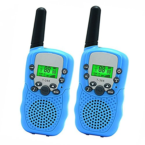 Toys for 4-5 Year Old Boys, DIMY Walkie Talkies for Kids Toys for 6-14 Year Old Boys Blue DJ02 (Best Toy For 12 Year Old Boy)