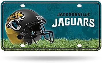 NFL Metal License Plate Tag