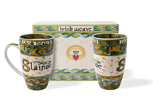 - Irish Slainte Cup Set of Two With Gift Box