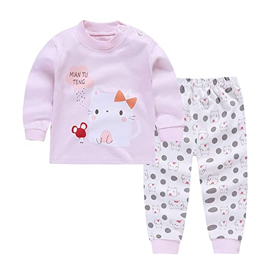 c50ba2ce2e73 Amazon.com  HUPLUE Kids Pajamas Boys Girl Long Underwear Set Thermal ...