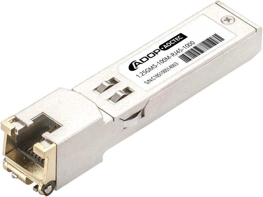 Gigabit 1000Base-T RJ45 Copper 1G SFP Transceiver ADOP for Dell GP-SFP2-1T 100m