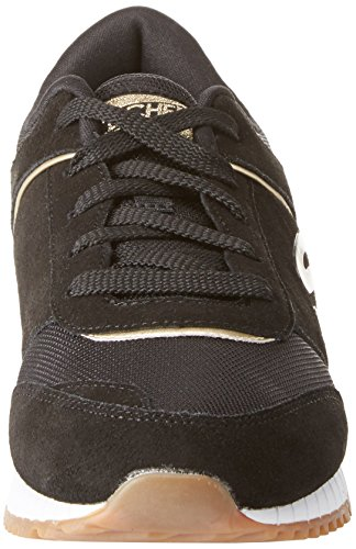 black Sunlite Baskets Femme Revival Noir Skechers nfFqXOF