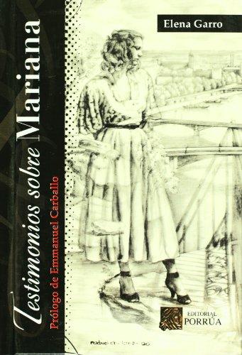 Testimonios Sobre Mariana (Spanish Edition)