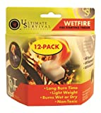 UltimateSurv 20-1WG0412-BX12 Wetfire Tinder 12-Pack