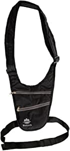 Lifeunion Hidden Underarm Pocket Shoulder Bag Anti-theft Cross-body Bag (Black)