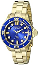 Invicta Women's 19818 Pro Diver Analog Display Swiss Quartz Gold Watch