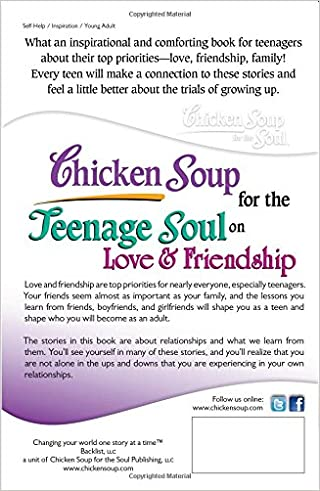 Amazon.com: Chicken Soup for the Teenage Soul on Love & Friendship ...