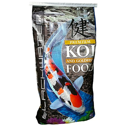 Blackwater Premium Koi and goldfish Food Max Growth 40lb, Medium Pellet