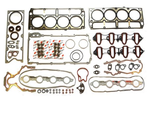 Diamond Power Full Gasket Set works with Chevrolet Suburban Avalanche Silverado Tahoe GMC Sierra Savana Express Buick Rainier Escalade 4.8L /5.3L OHV