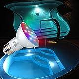 COOLWEST 12V LED Color Spa Light Bulb, RGB Remote