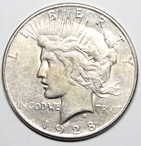 (1928 S Peace Silver Dollar $1 About)