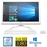 "HP Pavilion 24-G227C Core i5-7200U 8GB 1TB HDD 23.8"" Full HD WLED All-in-One (Certified Refurbished)"